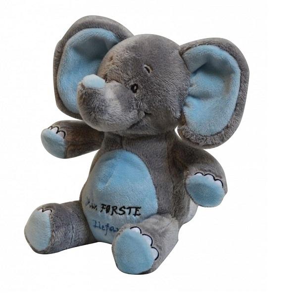 My Teddy - Min Første Elefant Blå