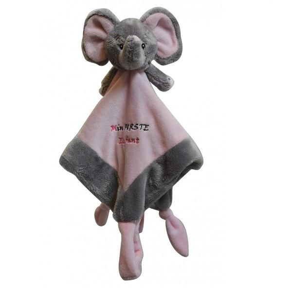 My Teddy Sutteklut - Min Første Elefant Rosa