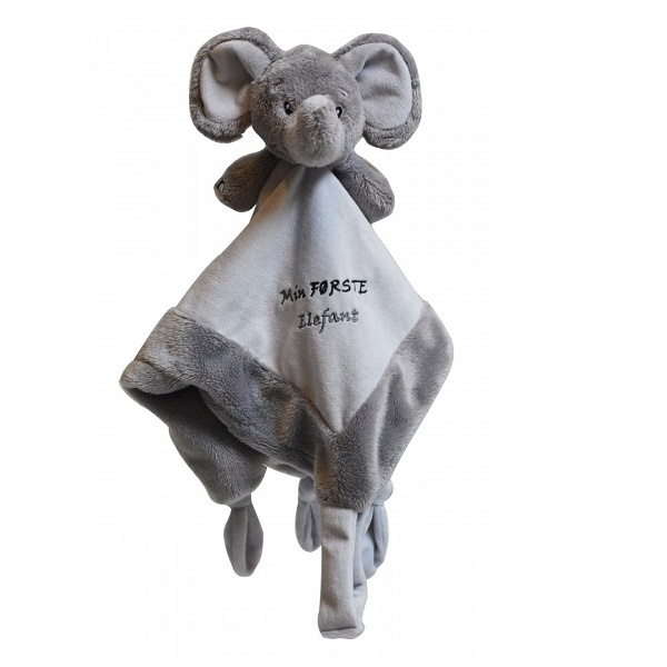 My Teddy Sutteklut - Min Første Elefant Grå