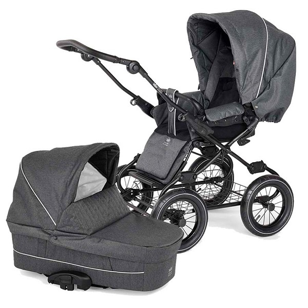 Nordic Crown Nordkapp Duo - Black/Dark Grey Melange