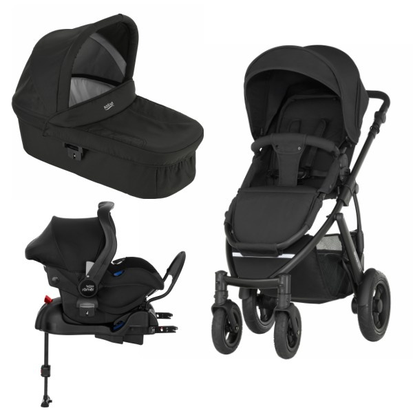 Britax Smile 2 3i1 inkl Base - Cosmos Black