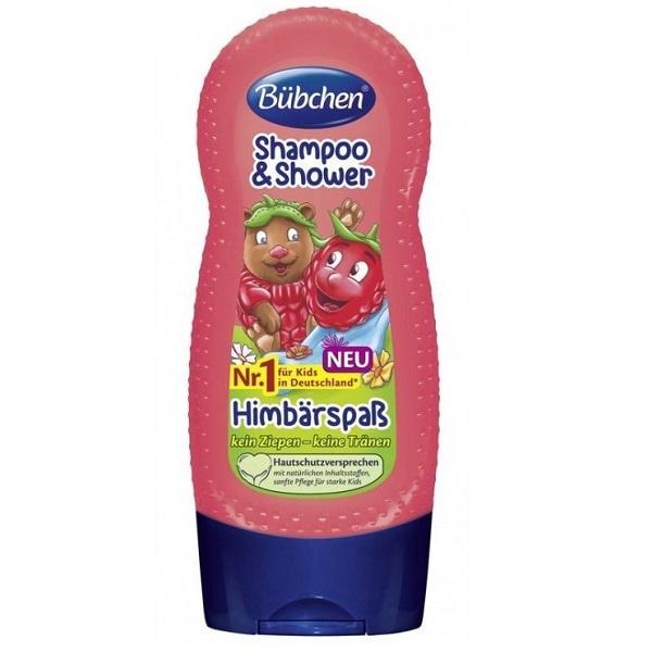 Bübchen Barnepleie Shampo & Shower - Rasberry