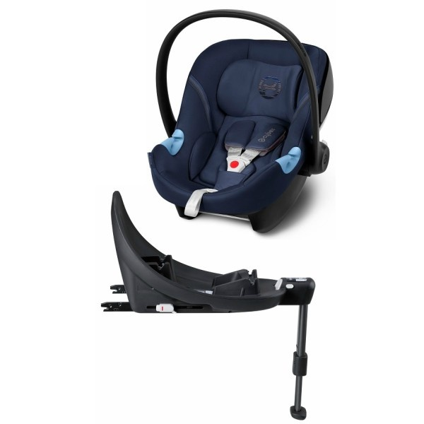 Cybex Aton M inkl Base - Denim Blue