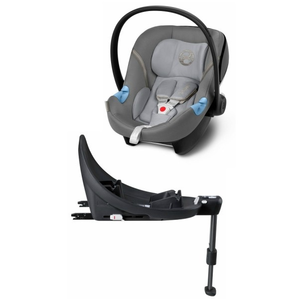 Cybex Aton M inkl Base - Manhattan Grey