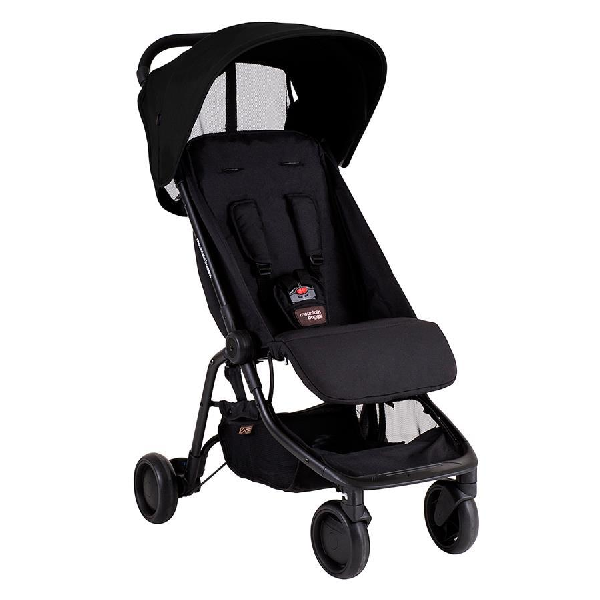 Mountain Buggy Nano V2 - Svart