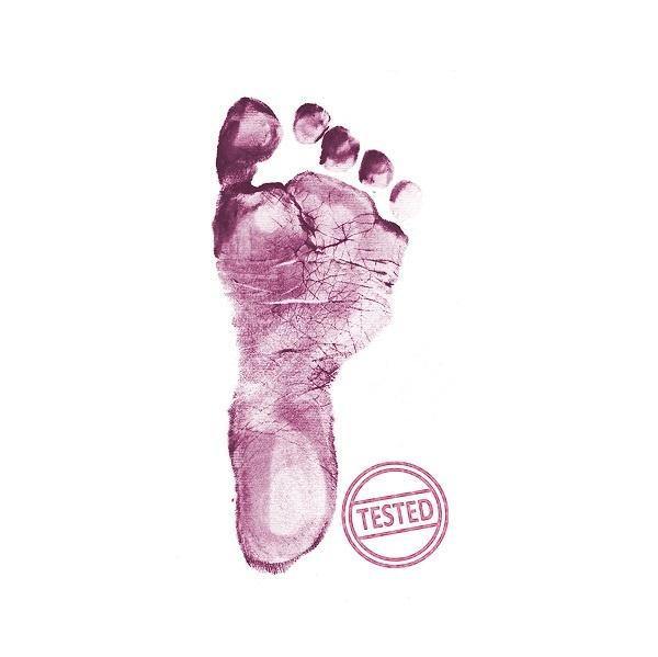 Baby Dab Hånd- & Fotavtrykk Stempel - Purple