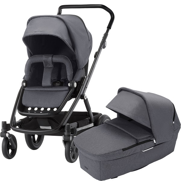 Britax Go Next² Duo - Graphite Melange/Black