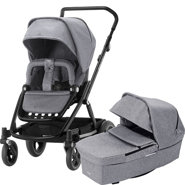 Britax Go Next² Duo - Grey Melange/Black