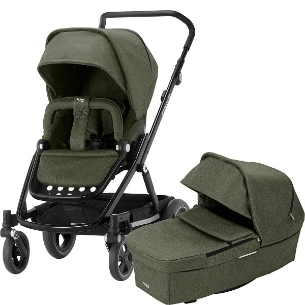 Britax Go Next² Duo - Olive Melange/Black