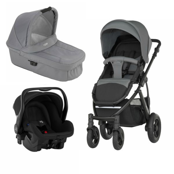Britax Smile 2 3i1 - Steel  Grey