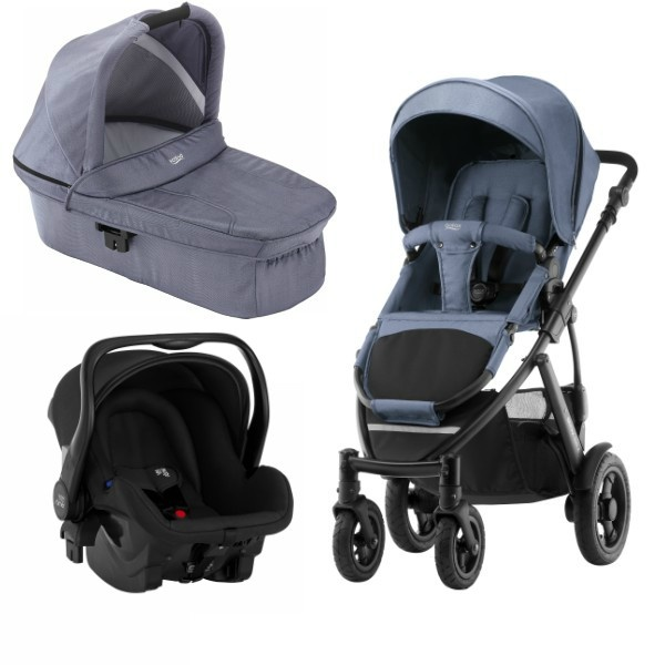 Britax Smile 2 3i1 - Blue Denim