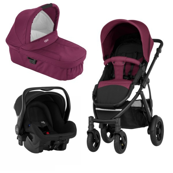 Britax Smile 2 3i1 - Wine Red