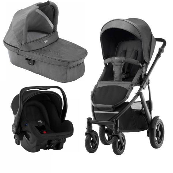 Britax Smile 2 3i1 - Black Denim