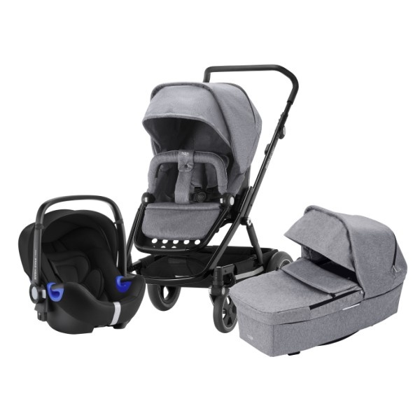 Britax Go Next² 3i1 - Grey Melange/Black