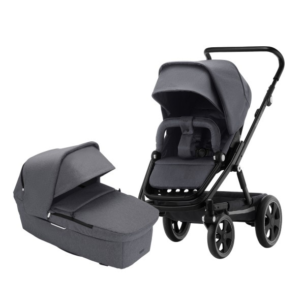Britax Go Big² Duo - Graphite Melange/Black