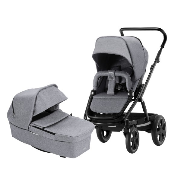 Britax Go Big² Duo - Grey Melange/Black