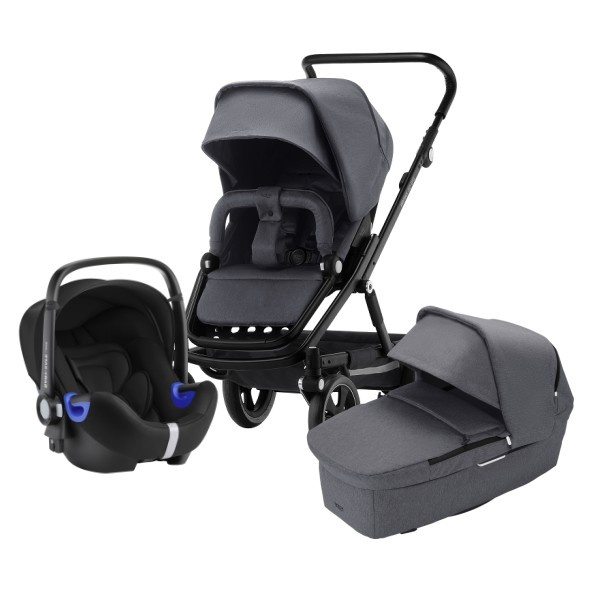 Britax Go Big² Travelsystem - Graphite Melange/Black