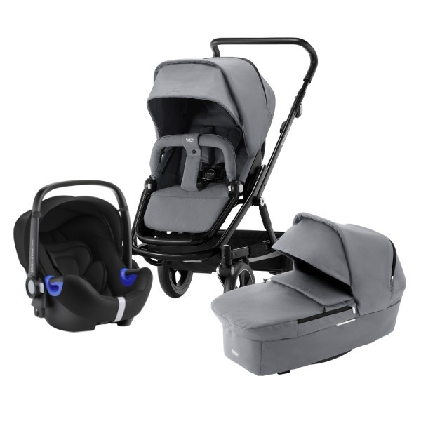 Britax Go Big² Travelsystem - Steel Grey/Black