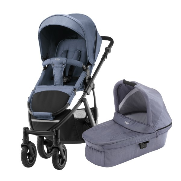 Britax Smile 2 Duo - Blue Denim