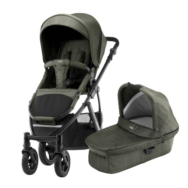 Britax Smile 2 Duo - Olive Denim