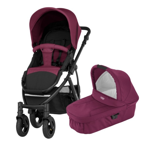 Britax Smile 2 Duo - Wine Red