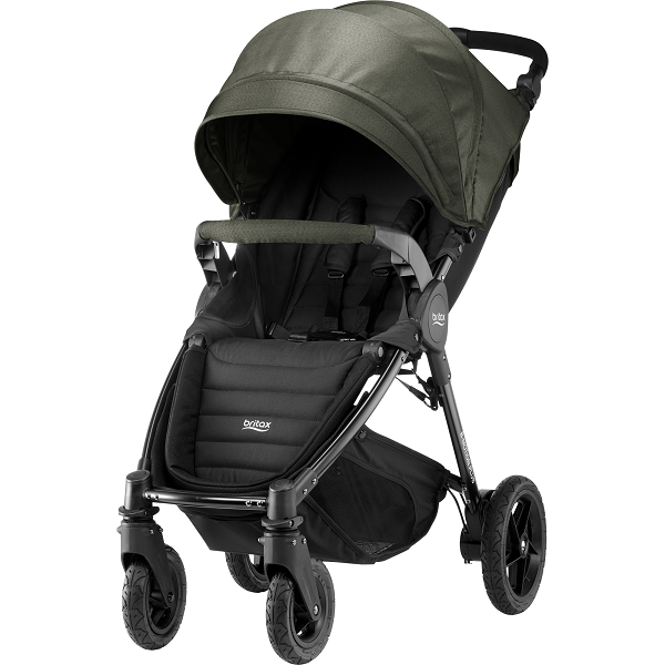 Britax B-motion 4 Plus - Olive Denim