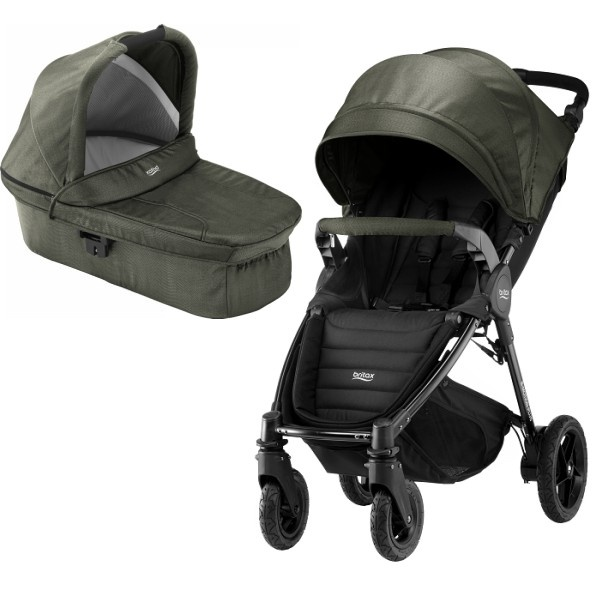 Britax B-motion 4 Plus Duo - Olive Denim