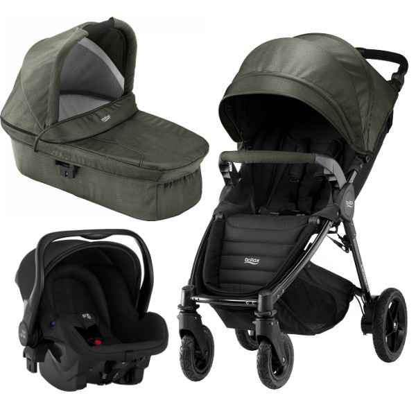 Britax B-motion 4 Plus 3i1 - Olive Denim