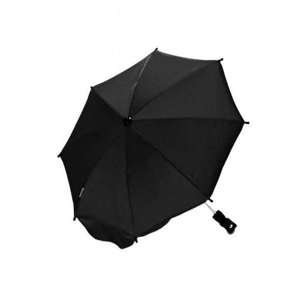 Parasoll for barnevogn svart