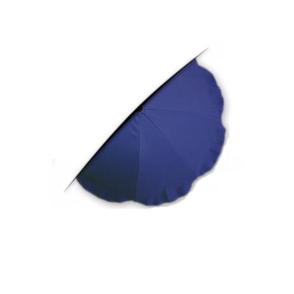 Parasoll for barnevogn mørke blå